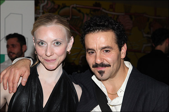 Tina Benko and Max Casella