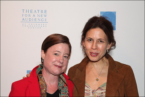 Julie Crosby and Jessica Hecht