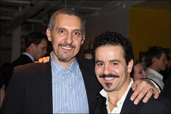 John Turturro and Max Casella