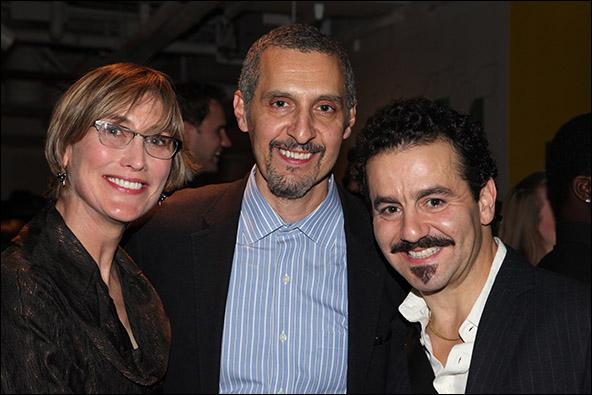 Katherine Borowitz, John Turturro and Max Casella