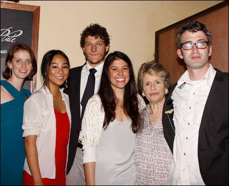 Amy Herzog, Greta Lee, Gabriel Ebert, Zoe Winters, Mary Louise Wilson and Daniel Aukin
