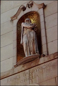 Ethel Barrymore statue