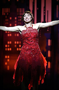 Darcie Roberts as <I>Thoroughly Modern Millie.</I>