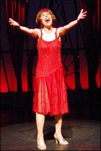 Tari Kelly in a Chicago production of <i>Millie</i>.