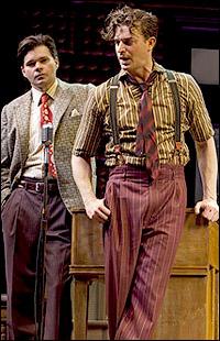 <I>Million Dollar Quartet</I> stars Hunter Foster and Levi Kreis