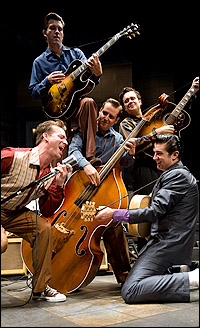 Scene from <I>Million Dollar Quartet</I>