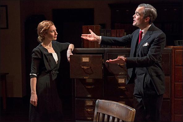Julia Coffey and Stephen Plunkett