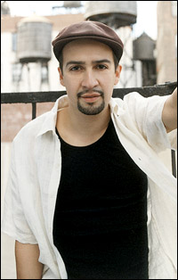 <I>In the Heights</I>' Lin-Manuel Miranda will be part of the Tony Preview concert.