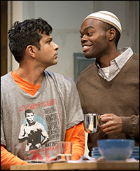 Utkarsh Ambudkar and William Jackson Harper
