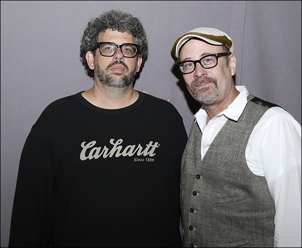 Neil LaBute and Terry Kinney