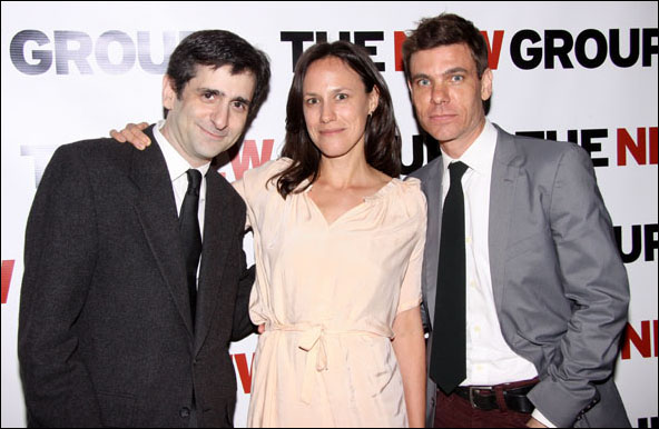 Jonathan Marc Sherman, Stephanie Janssen and Aaron Krohn