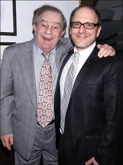 Freddie Roman and Lonny Price