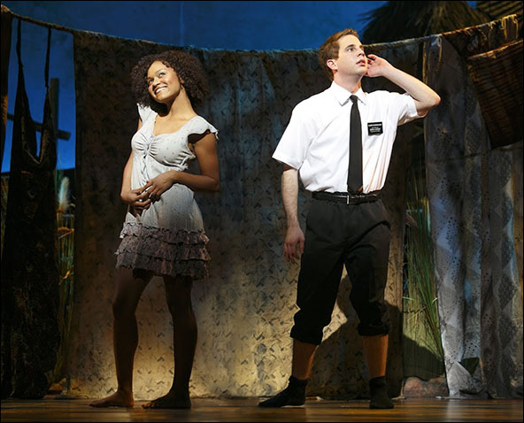 Syesha Mercado and Ben Platt
