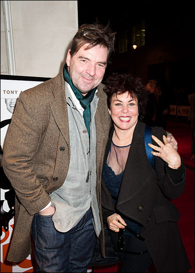 Brendan Coyle and Ruby Wax