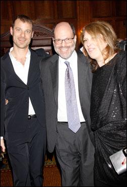 Matt Stone, Scott Rudin and Anne Garefino