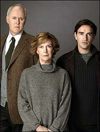 John Lithgow, Eileen Atkins, and Ben Chaplin in <i>The Retreat from Moscow</i>