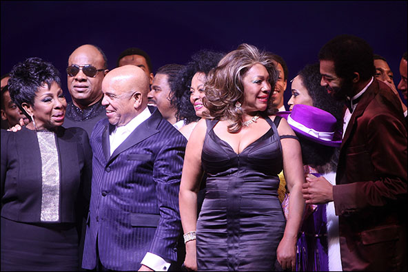 Gladys Knight, Stevie Wonder, Berry Gordy, Diana Ross, Mary Wilson, Brandon Victor Dixon