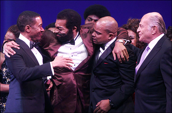 Charles Randolph-Wright, Brandon Victor Dixon, Warren Adams and Doug Morris