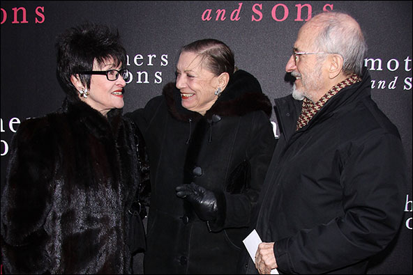 Chita Rivera, Graciela Daniele and Jules Fisher