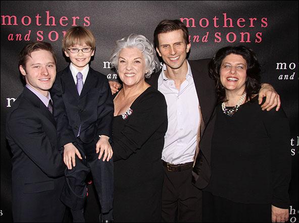Bobby Steggert, Grayson Taylor, Tyne Daly, Frederick Weller and Sheryl Kaller