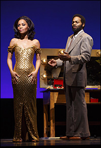 Valisia LeKae and Brandon Victor Dixon