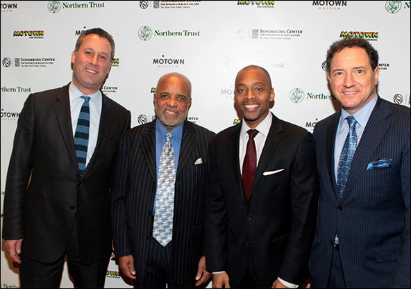 Anthony Marx, Berry Gordy, Khalil Muhammad and Kevin McCollum