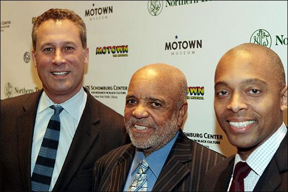 Anthony Marx, Berry Gordy and Khalil Muhammad