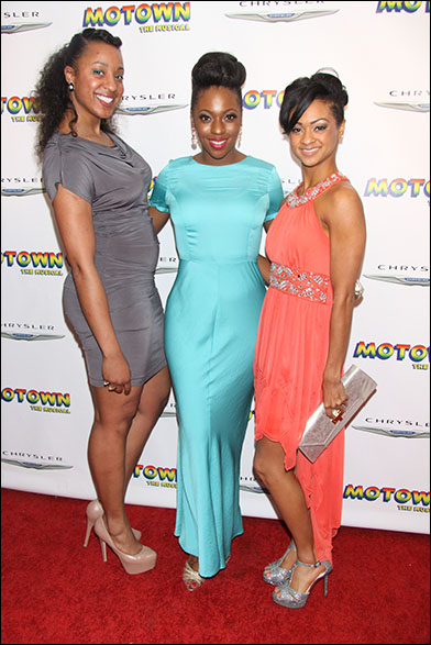 Dominique Bunai, Crystal Joy and Syndee Winters