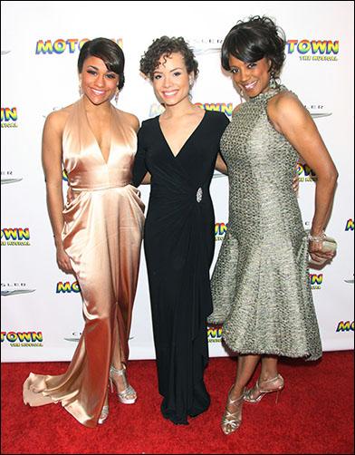 Ariana DeBose, Sydney Morton and Marva Hicks