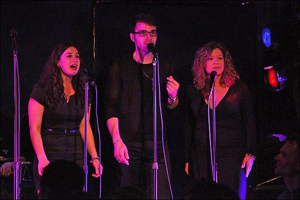 Shauna Goodgold, Bronson Norris Murphy and Lindsay Rider