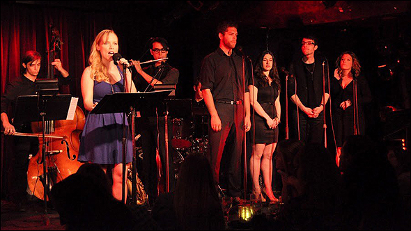 Marissa McGowan with Gavriel Savit, Shauna Goodgold, Bronson Norris Murphy and Lindsay Rider