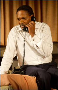 Samuel L. Jackson in <i>The Mountaintop.</i>