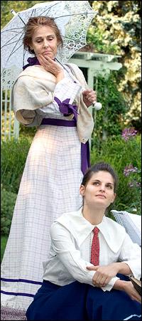 Paula Prentiss and Prentiss Benjamin star in <i>Mrs. Warren's Profession</i>