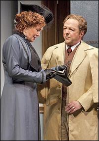 Cherry Jones and Edward Hibbert