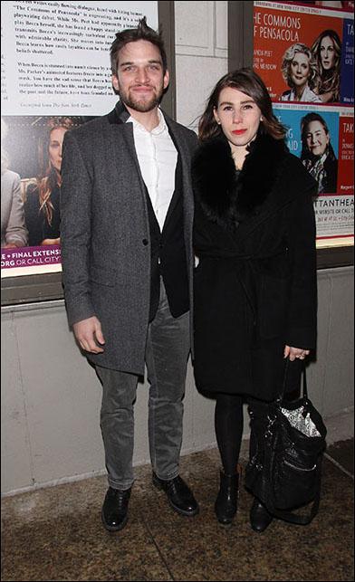 Evan Jonigkeit and Zosia Mamet