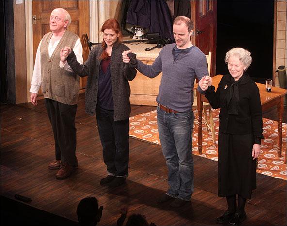 Peter Maloney, Debra Messing, Brían F. O'Byrne and Dearbhla Molloy