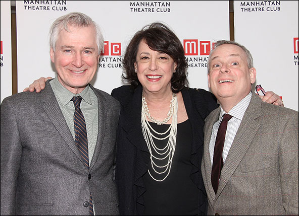 John Patrick Shanley, Lynne Meadow and Doug Hughes