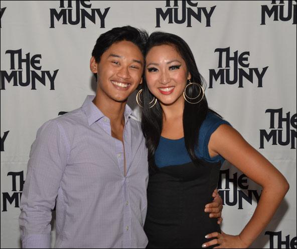 Joshua Dela Cruz and Stephanie J. Park