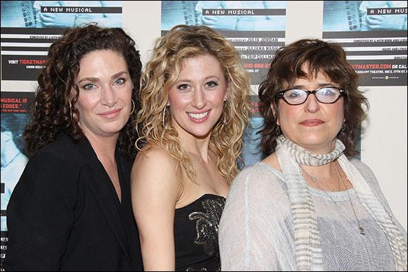 Julia Jordan, Caissie Levy and Juliana Nash