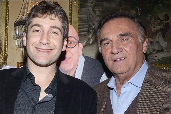 Scott Schwartz and Tony Lo Bianco