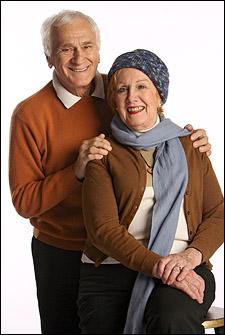 Dick Latessa and Marni Nixon