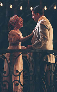 Kristin Chenoweth and Matthew Broderick in the TV movie version of  <i>The Music Man</i></i>