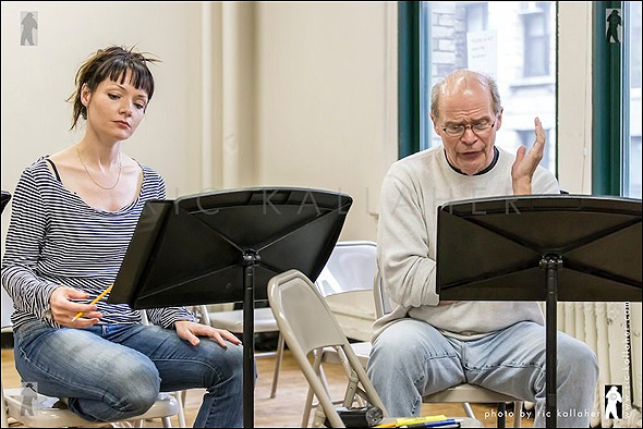 Katrina Lenk and William Parry in Eastland