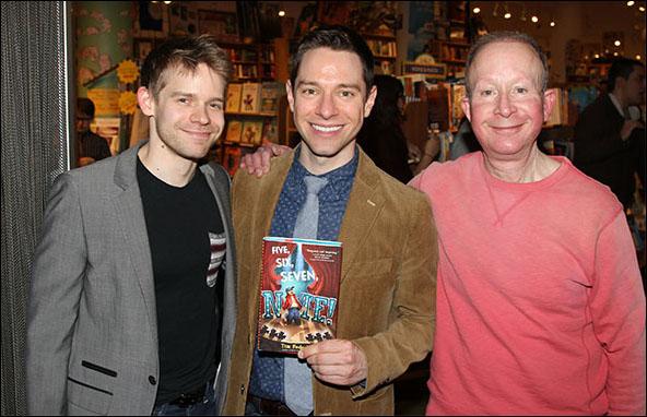 Andrew Keenan-Bolger, Tim Federle and Jack Feldman