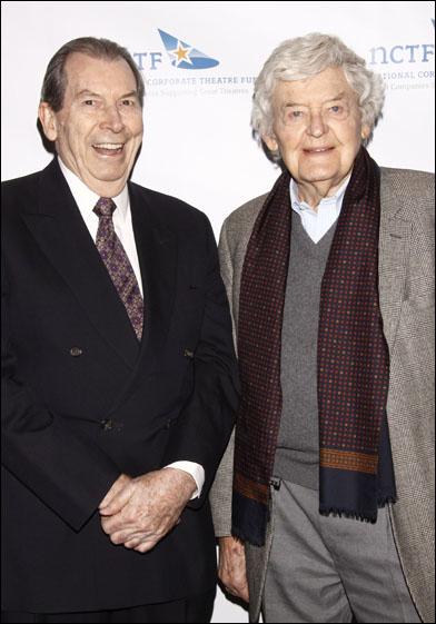 Richard Easton and Hal Holbrook