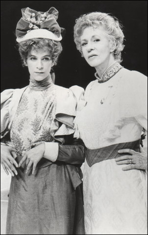 Amanda Plummer and Uta Hagen in You Never Can Tell, 1987