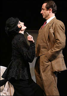 Francesca Faridany and Sam Robards in the Broadway production.
