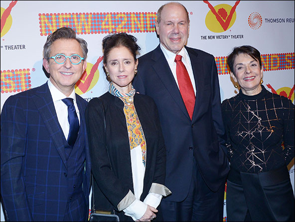 Thomas Schumacher, Julie Taymor, Michael D. Eisner and Cora Cahan