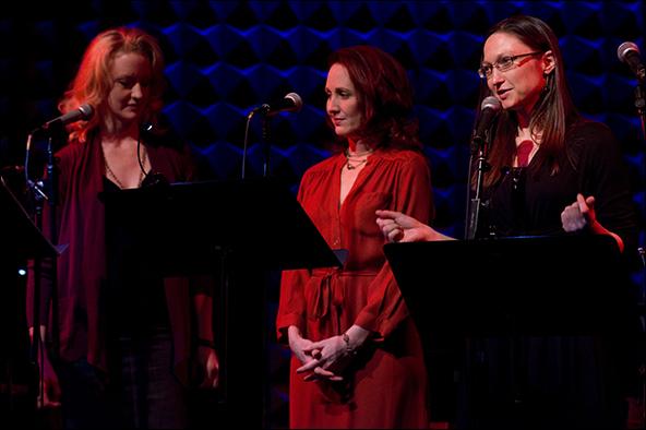 Cristin Hubbard, Mary Mossberg and Virginia Hart Pike