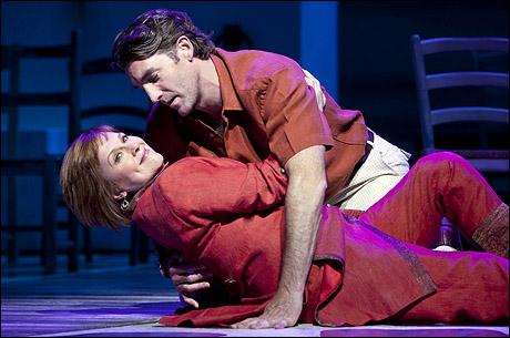 Allison Briner and Patrick Boll